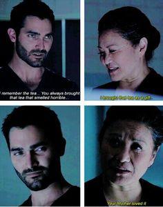 Awww Derek was happy♥️