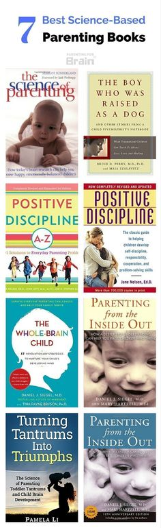 6 Best Science-Based Parenting Books - Parenting For Brain Best Parenting Books New Parent Advice, Parent Resources, Teaching Resources, Best Parenting Books, Parenting Hacks, Parenting Styles, Parenting Classes, Parenting Workshop, Parenting Quotes
