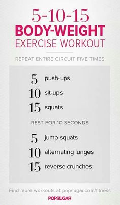You are your own gym! Try this bodyweight workout for some awseome results! Guaranteed to kick your butt and burn fat! #calisthenics