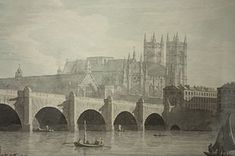Westminster Bridge, one of only three to cross the Thames in the city in Kirstin's time.