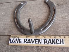 FOR SALE in Lone Raven Ranch eBay shop - please follow link.. http://www.ebay.com/usr/loneravenranch (subject to prior sale) FreeShip Real Horseshoe Dog/Pet Leash Key Peg Holder Hook Cowgirl Cowboy USA #27