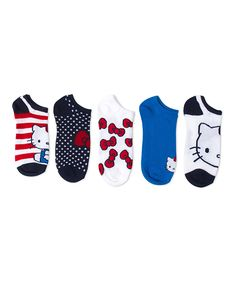 Hello Kitty Stripes Five-Pair Shorty Socks Set. Includes five pairs of socks! Click the picture for details! Hello Kitty Clothes, Hello Kitty Shoes, Hello Kitty Bag, Baby Booties, Baby Shoes, Hello Kitty Collection, Diaper Covers, Going Back To School, Traveling With Baby