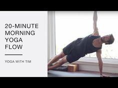 23 Minute Morning Yoga Flow With Tim Senesi - YouTube