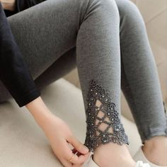 Diamond Lace Women Leggings | Daisy Dress for Less | Women's Dresses & Accessories