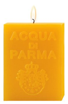 Burn bright: Acqua di Parma 'yellow colonia' candle