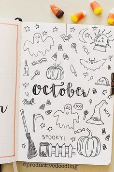 Best bullet journal monthly cover ideas for October If you're looking for some new October monthly cover ideas to try in your bullet journal, then you need to check out these super fun and spooky spreads! Bullet Journal Halloween, Bullet Journal October, Bullet Journal Cover Ideas, Bullet Journal Notebook, Bullet Journal Ideas Pages, Bullet Journal Spread, Journal Covers, Bullet Journal Inspiration, Book Journal