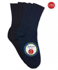872705817 Classic rib boys sock made with mercerized cotton that can be worn for school  uniform