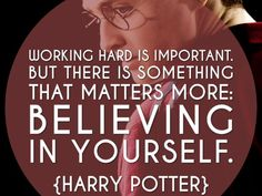 Which Harry Potter quote inspires you?