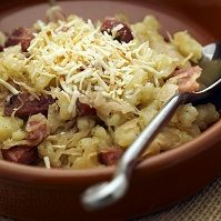 Slovak Food - Halusky