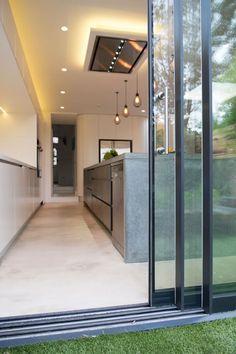 Frameless Sliding Glass Patio Door System | Slimline Glazing & Aluminium Systems