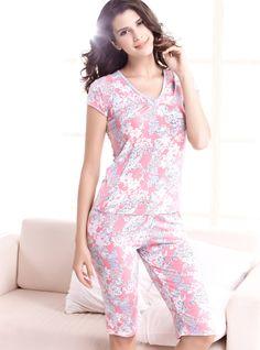 Moonbasa Women's Leopard Printing Cotton Pajama Set Website: http://www.amazon.com/gp/product/B00N5SOKIW