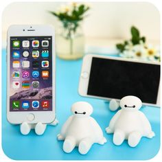 Baymax Cartoon Characters Universal Phone Stand Holder