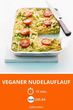 Veganer Nudelauflauf