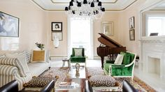 Domaine's Favorite Living Rooms of 2014 via @domainehome