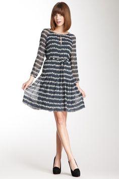 Orla Kiely Silk Georgette Raglan Dress by Damsel In A Dress on @HauteLook