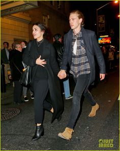 Vanessa Hudgens & Julianne Hough See 'Hamilton' On Broadway with Austin Butler Vanessa Hudgens And Austin Butler, Zac And Vanessa, Celebrity Outfits, Celebrity Couples, Celebrity Style, Daily Mail Celebrity, Star Fashion, Mens Fashion, Hot Tickets