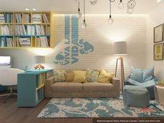 41 Best Kids Room Ideas Decoration and Creative - Pandriva Home Interior, Interior Design Living Room, Living Room Designs, Small Space Interior Design, Kids Room Design, Home Decor Furniture, Girl Room, Home Office, Sweet Home