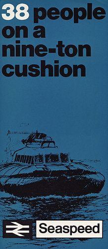 """Seaspeed (1966): """"38 people on a nine-ton cushion"""""""