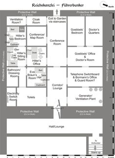 Death of Adolf Hitler - Wikipedia Bunker, World History, World War Ii, Conference Chairs, The Third Reich, Criminology, Native American History, Plans, Wwii