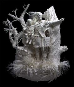 Paperart9 in Showcase of Amazing Paper Made Artworks and Sculptures