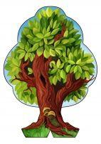 Дерево «Времена года» своими руками. Лето