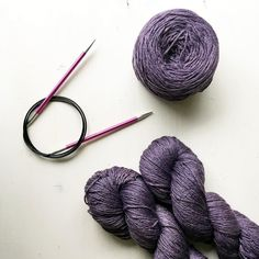 Casting on something new tonight. The biggest project I've ever started. I bought new needles to celebrate!