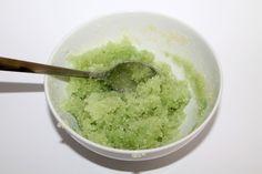 DIY, Basteln: Sugar Scrub / Zuckerpeeling Limette in Kosmetik als Geschenkidee und Wohndekoration - DIYCarinchen