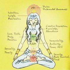 "yeseniabatalla: ""What are Chakras? Chakras are centers of spinning energy located throughout the body. There are 7 main Chakras. Chakra Mantra, Chakra Meditation, Kundalini Yoga, Chakra Healing, Meditation Rooms, Spiritual Health, Spiritual Growth, 5 Tibetan Rites, Reiki"