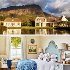 Surrounded by lush vineyards, glorious mountains and unsurpassed views in all directions, La Cotte House is ideal for a luxurious getaway with friends and family to #Franschoek! #Winelands #WesternCape #TravelGround #Friyay #FridayFeeling