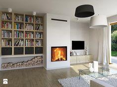 Średni salon z tarasem / balkonem, styl minimalistyczny - zdjęcie od Aleksandra Tybulczuk