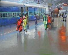 Bijay Biswaal- 'rain' in everyday life