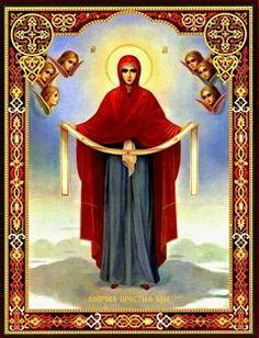 Μωσαϊκό: Αγία Σκέπη της Υπεραγίας Θεοτόκου εν Βλαχερνώ και ...