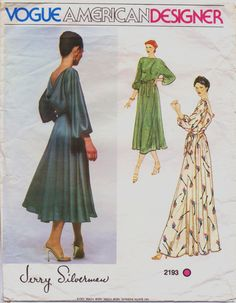 70s Vogue American Designer Pattern 2193 Jerry by CloesCloset, $19.00