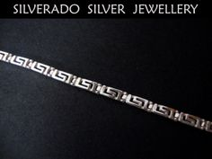 Sterling Silver 925 Ancient Greek Key by SilveradoJewellery, €27.00