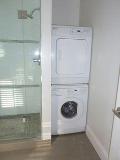 I want a laundry in my master bathrooom!