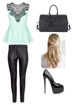 """""""Untitled #5"""" by alytoo on Polyvore featuring City Chic and Sole Society"""