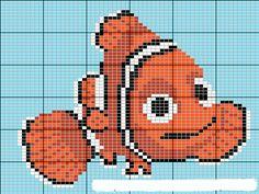 Finding Nemo hama perler beads pattern