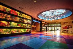 Art of Animation Resort Lobby/ Disney World/ (c) Keith Burrows / See galleries at www.DisneyWOWphotos.com