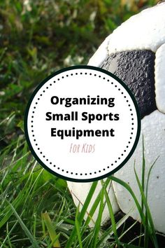 Organizing in the garage can be easy with a little planning. Here are organizing small sports equipment tips. Organizing Your Home, Organizing Tips, Attic Organization, Making Life Easier, Storage Solutions, Storage Ideas, Sports Equipment, Kids House, Getting Organized