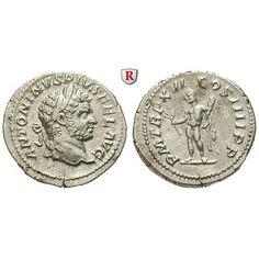 Römische Kaiserzeit, Caracalla, Denar 213, ss-vz: Caracalla 198-217. Denar 20 mm 213 Rom. Kopf r. mit Lorbeerkranz ANTONINVS PIVS… #coins