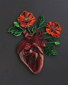 Click for more pics! Top 20 Amazing Examples of Quilling - Judith + Rolfe Quilled Paper Art #paperart #quilling