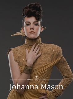 The first viral promo for 'Catching Fire' is a fashion magazine from the future