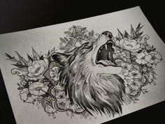 Home - Tattoo Spirit Wolf Tattoos, Tattoos Skull, Animal Tattoos, Sleeve Tattoos, Dragon Tattoos, Ankle Tattoos, Arrow Tattoos, Sketch Tattoo Design, Tattoo Sketches