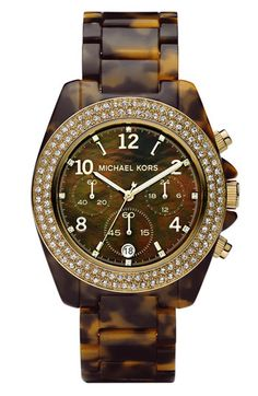 Tortoise michael kors. LOVE IT.