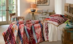 Wool bedding collections