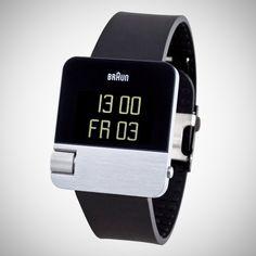 Braun Men's Prestige Digital Watch BN0106SLBKG by