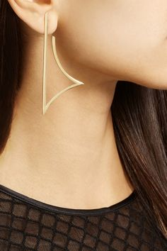 Ana Khouri | Alexandra earrings 18-karat gold earrings | NET-A-PORTER.COM