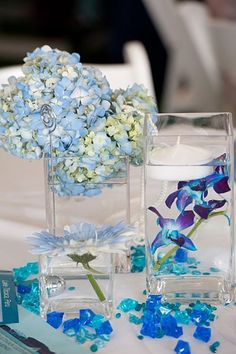 Centerpiece idea for date night on a boat