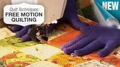 Free motion quilting is a fast and fun way to finish your quilts! Learn more now http://www.nationalquilterscircle.com/video/free-motion-quilting-003548/?utm_source=pinterest&utm_medium=organic&utm_campaign=A219 #NQC #learnmorequiltmore #LetsQuilt