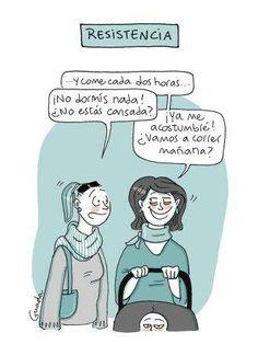 20 caricaturas de lo que nace con la maternidad ¡A reír en serio! - BabyCenter
